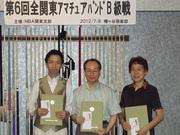 第6回全関東アマバンドB級戦