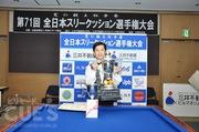 第71回全日本スリークッション選手権大会