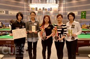 第47回全日本ポケットビリヤード選手権大会 女子(SG1)