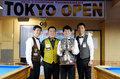 21st TOKYO OPEN 3-CUSHION TOURNAMENT