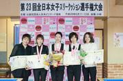 第23回全日本女子スリークッション選手権大会