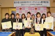 第24回全日本女子スリークッション選手権大会